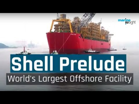 Shell Prelude - World's Largest Offshore Facility