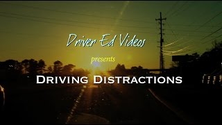 """""""Driving Distractions"""" (NEW Driver Education VIDEO)"""