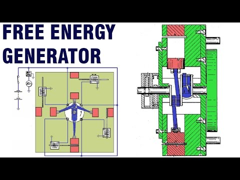 Free Energy Generator - Robert Tracy Permanent Magnet Motor