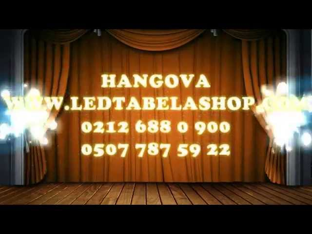 Led Tabela Shop & Hangova - 0212 688 0 900