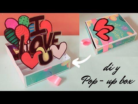 how to make pop up explosion  box | handmade card for birthday \diy birthday card for boyfriend