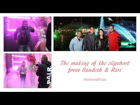 MAKING OF.. SANDESH & RAVI | BACKSTAGE | IRAISHANAFISAA