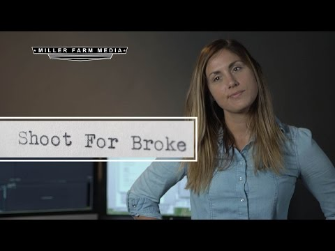 Behind the scenes look at making videos for a living | Shoot for Broke Ep. 1
