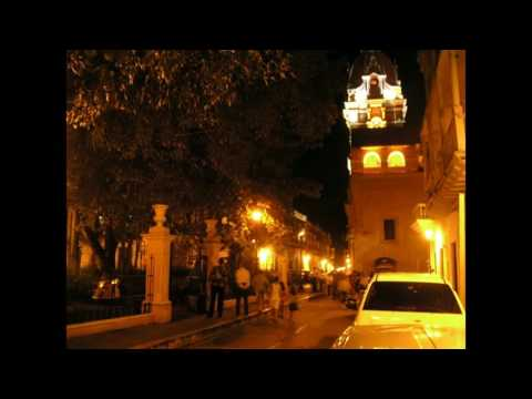 Colombia Cartagena by night