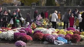 Dzień Wszystkich Świętych 2018 - Cmentarze łódzkie