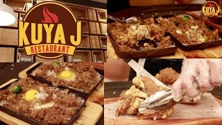KRISZIA TV: Kuya J's Restaurant (FOODTRIP)