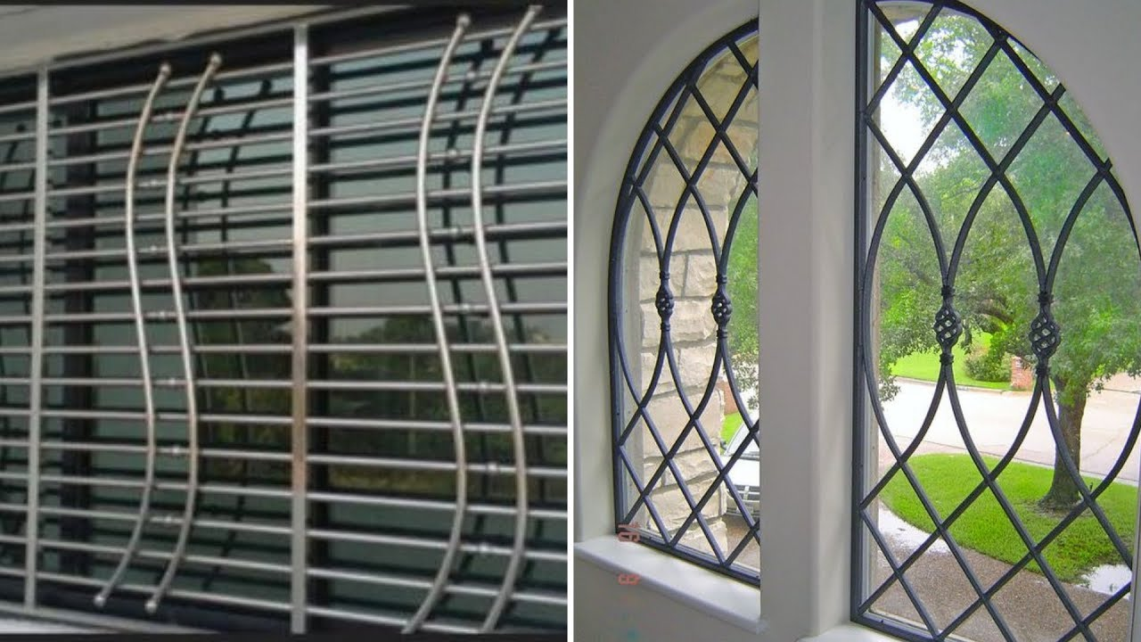 Latest Window Grill Designs 2018 2019 Youtube