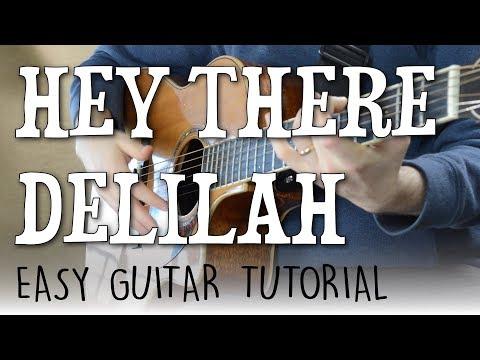 Hey There Delilah - Guitar Tutorial | Plain White T's - Fingerpicking Guitar Lesson