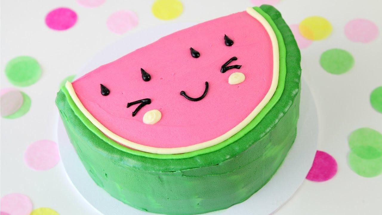 Cute WATERMELON Cake