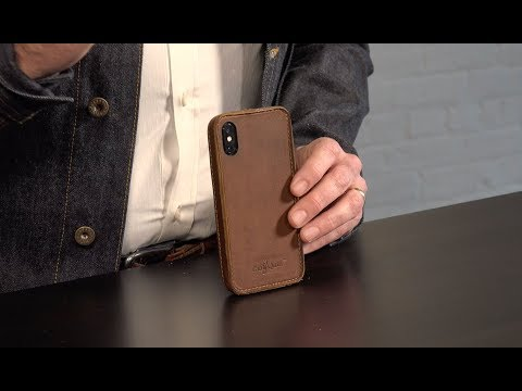 Traveler Slim Leather iPhone X Bumper Case Review by Pad & Quill