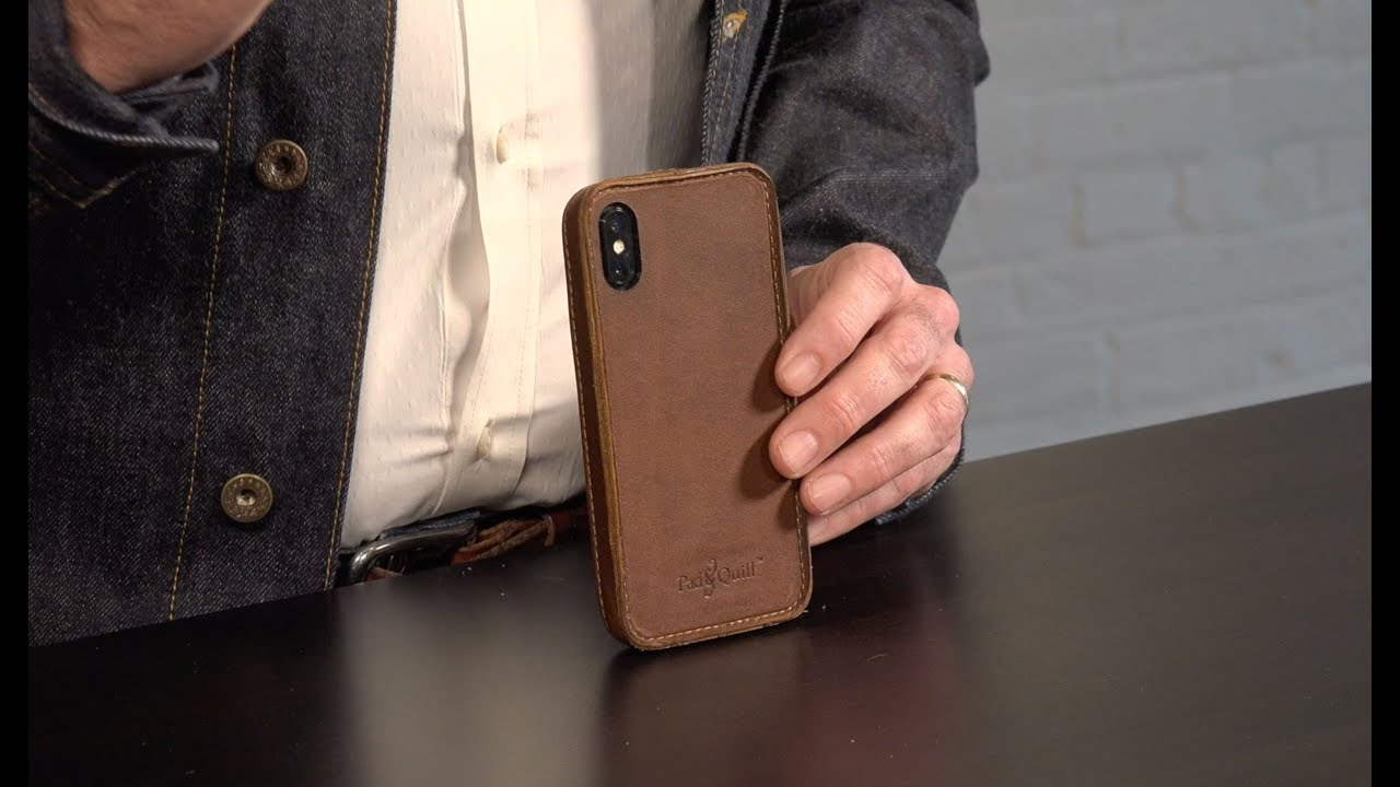 huge selection of 1fa7e f0aa5 Traveler Slim Leather iPhone X Bumper Case Review by Pad & Quill