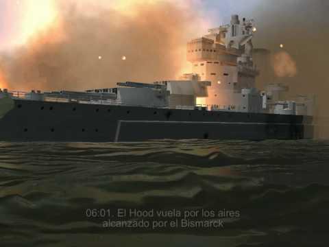 The Battleship Bismarck. The Battle of the Denmark Strait