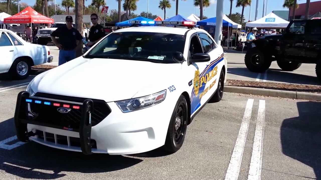 Winter Garden Police Ford Interceptor Sedan Youtube
