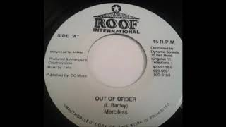 Merciless - Out Of Order (1995) Scream Riddim
