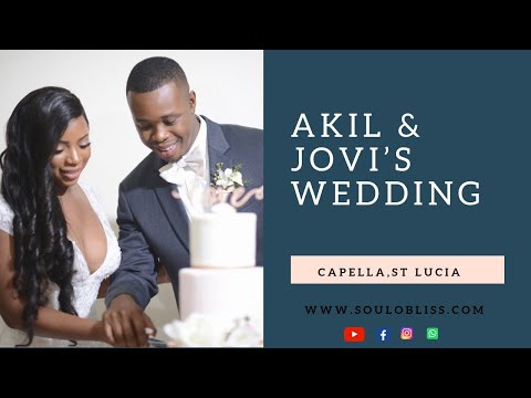 Capella Marigot Bay Wedding | AKIL & JOVI Highlight|Wedding in St lucia