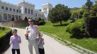 Ливадийский дворец: гуляем по территории(, 2013-05-09T02:58:21.000Z)
