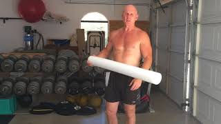 Releasing The Abdominal Wall With a Foam Roller