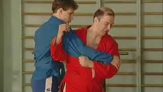 Уроки самбо Гончаров 08   Задняя подножка от броска через спину