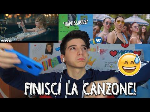 PROVA A FINIRE LA CANZONE! *impossibile* | Marco Cellucci