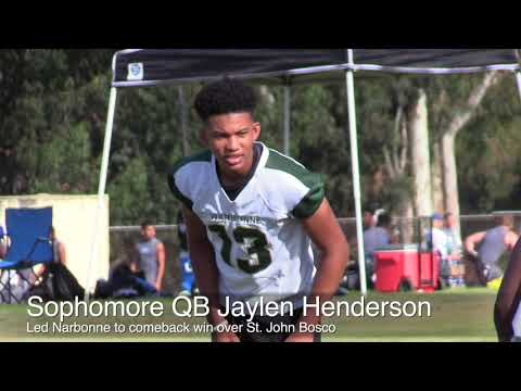 Mission Viejo passing tournament highlights