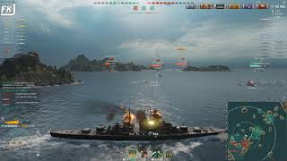 World of Warships - Bismarck does EVERYTHING