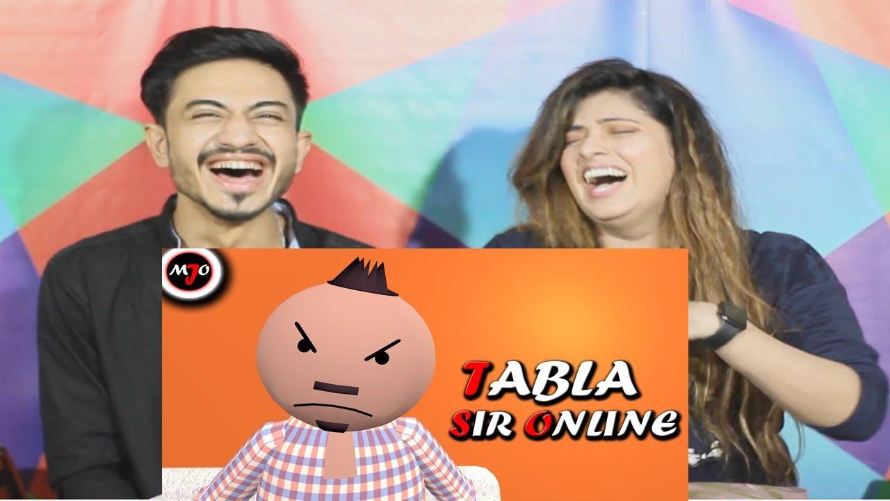 MAKE JOKE OF ||MJO|| TABLA SIR ONLINE | Pak Reaction