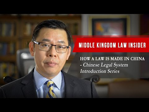 China's Legal System – How A Law Is Made in China | China Law Introduction Series