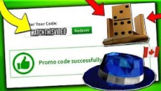 ALL ROBLOX PROMOCODES AUGUST 2019