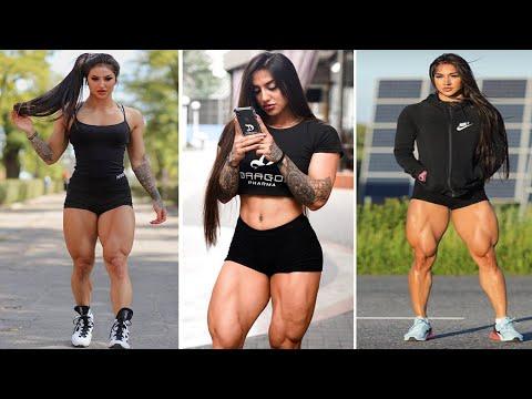 Bakhar Nabieva Workout, Female Bodybuilding, GYM WORKOUT, Fitness Model