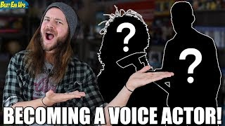 I'm Becoming A VOICE ACTOR FOR VIDEO GAMES!