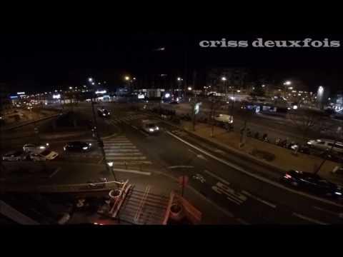 Lutèce ; Levé du Jour à Paris Montparnasse ; Rue de l'Arrivée ; Capitale ; France