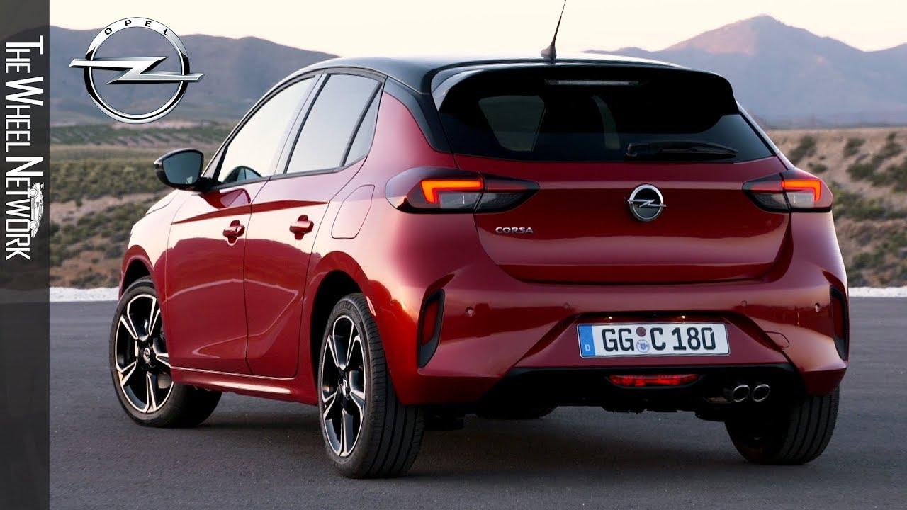 2020 Opel Corsa Chili Red Exterior Interior