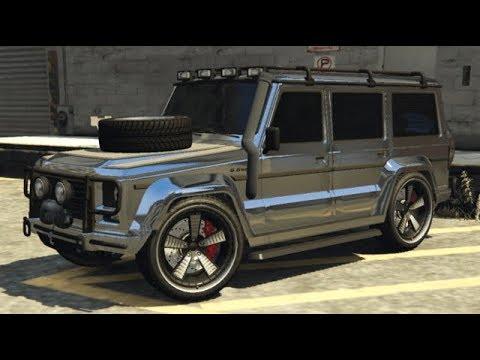 Benefactor Dubsta / Mercedes G Class - Grand Theft Auto Online