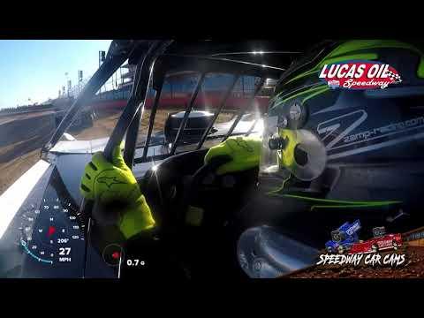 #15 - Payton Looney - Mlra Late model -10-20-19 Lucas Oil Speedway  - In Car Camera
