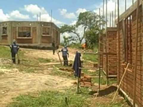 Progress at Nchute Health Clinic, Zambia - Build It International
