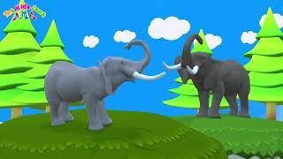 เพลงช้าง ช้าง ช้าง น้องเคยเห็นช้างหรือเปล่า - เพลงเด็กพี่นุ่น น้องภูมิ    By The Kids Song