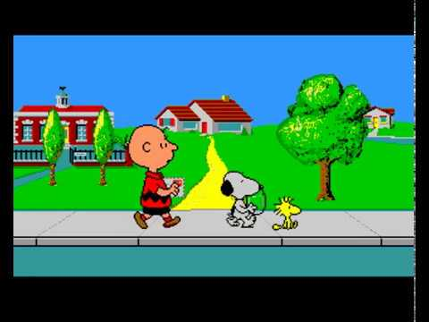 Snoopy and Peanuts DOS full gameplay - YouTube