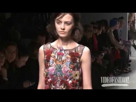 Leonard Paris Fall 2014 Paris Fashion Week Backstage, Interviews & runway | Videofashion
