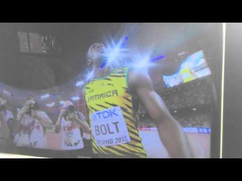 Usain Bolt vs Justin Gatlin 100 metre men's final - Beijing 23/08/2015