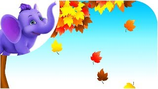 Falling Leaves - Nursery Rhyme with Lyrics & Sing Along