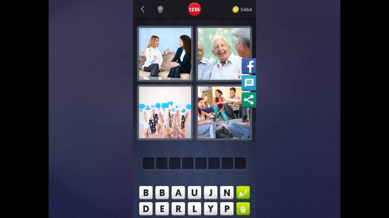 4 Bilder 1 Wort Lösung [Schuhe, Frau, Frau, Berge]