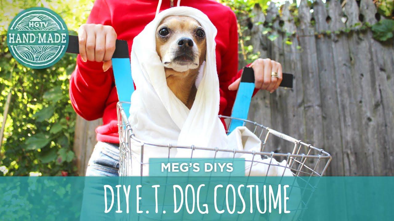 & DIY E.T. Dog Costume - YouTube