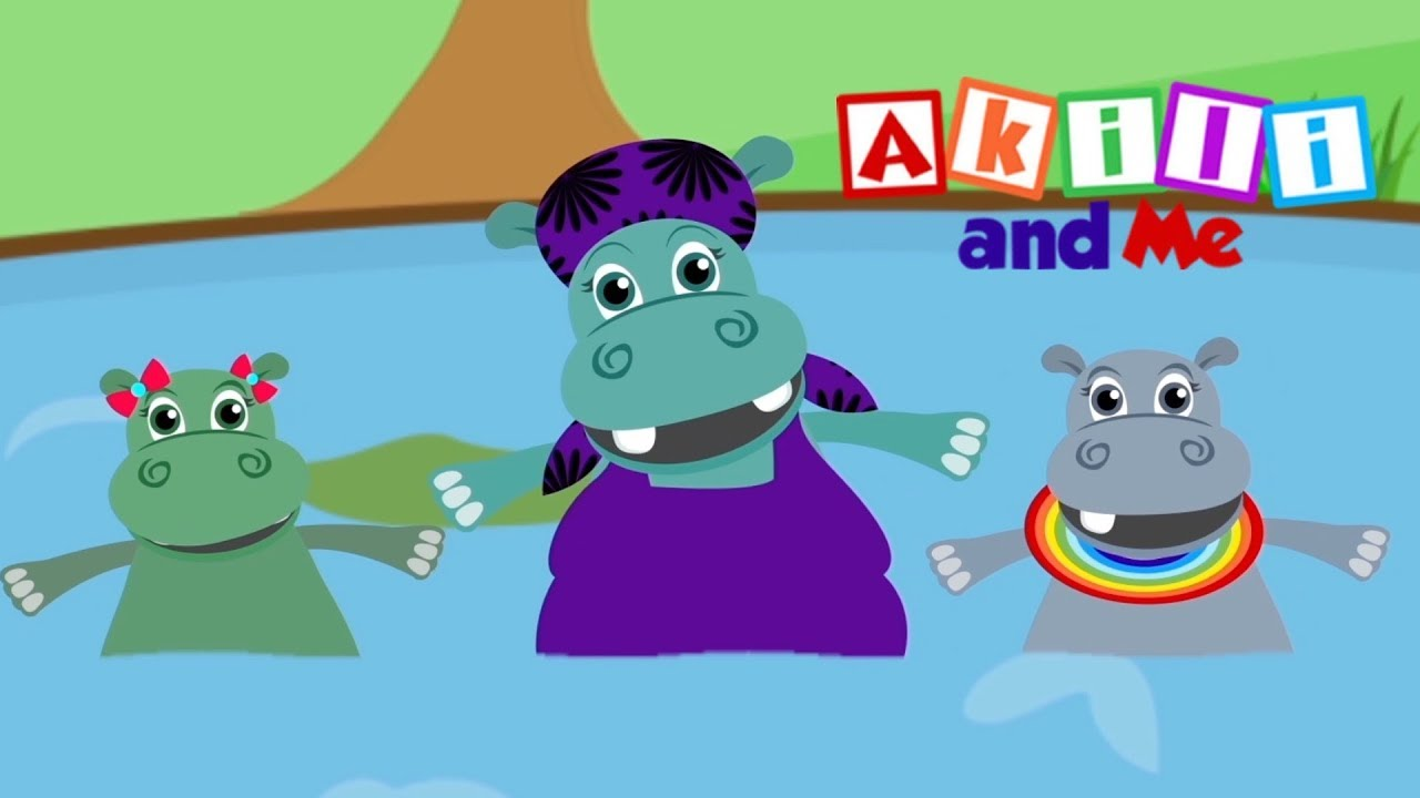Simple Songs to Learn English Words   Akili and Me - My First Words   African Animation