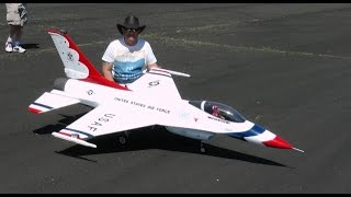 ONBOARD CAMS - JET LEGENDS RC F-16 FALCON - STEVE HAUGHTY AT CLASSIC JETS - 2015