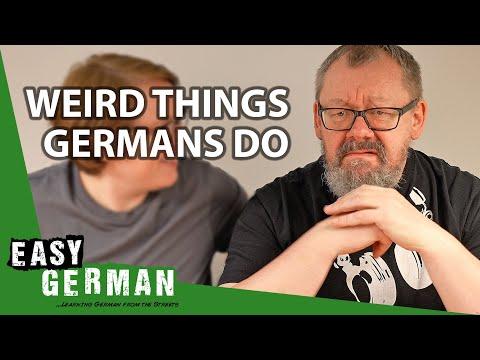 Weird Things Germans Do | Easy German 383
