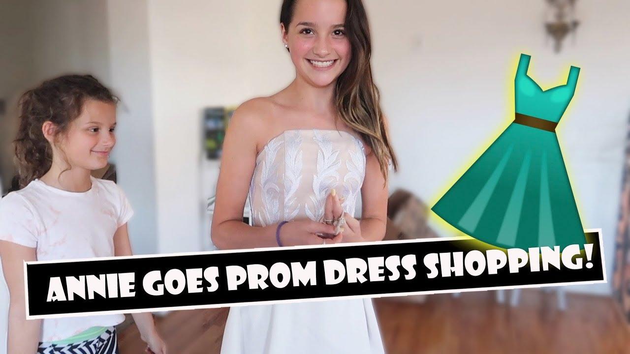 2dc0a87adb1 Annie Goes Prom Dress Shopping 👗 (WK 383.3)