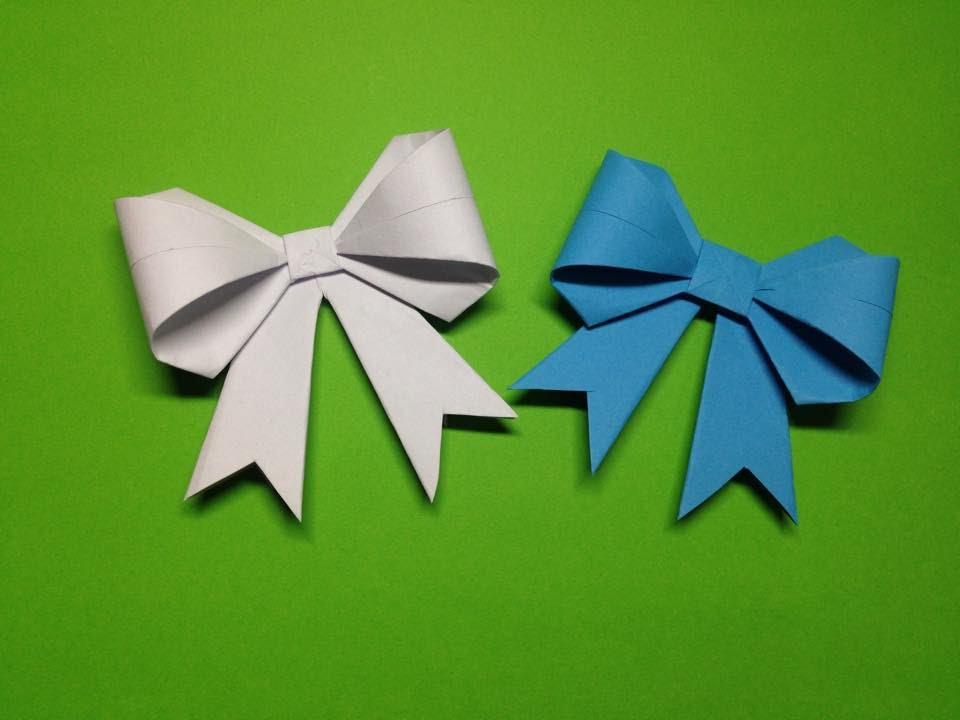 How To Make A Paper Ribbon Easy Origami Ribbons For Beginners