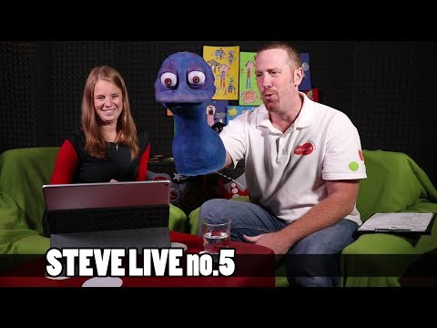 English teaching kids   Parroting, repeating and drilling   Steve Live no.5