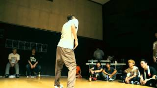 "@2012/07/28 ""Guerrilla Vol.1"" JUWON Battle Clip"