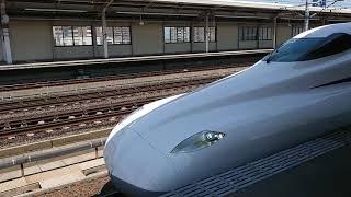 N700S  J0編成  試運転下り  三河安城駅発車
